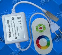 AC110V 220V 3 Circuits 750W Touch Remote Wireless High Voltage RGB LED Controller LED Strip Light