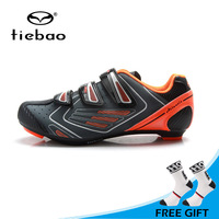 Tiebao Outdoor Sports Highway Road Cycling Shoes Superlight Bike Bicycle Shoes Non slip Athletic Riding Shoes sapatilha ciclismo