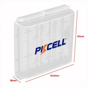 Image 5 - 8 adet X PKCELL AA düşük kendinden deşarj pil Ni MH 1.2V 2200mAh pil AA şarj edilebilir pil 2 adet pil tutma kutusu