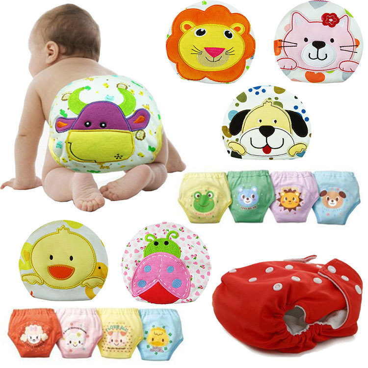 Baby Diaper Washable Reusable bebe nappy changing cotton potty training pant coolababy cloth diaper sassy fraldas reutilizaveis