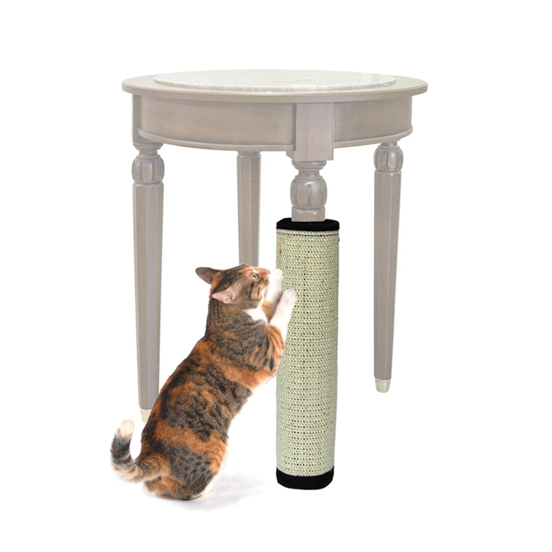 New Cat Scratch Pad Cat Pets Scratching Post Toy Board Protecting Furniture Foot Natural Sisal Cats Catnip Tree Tower