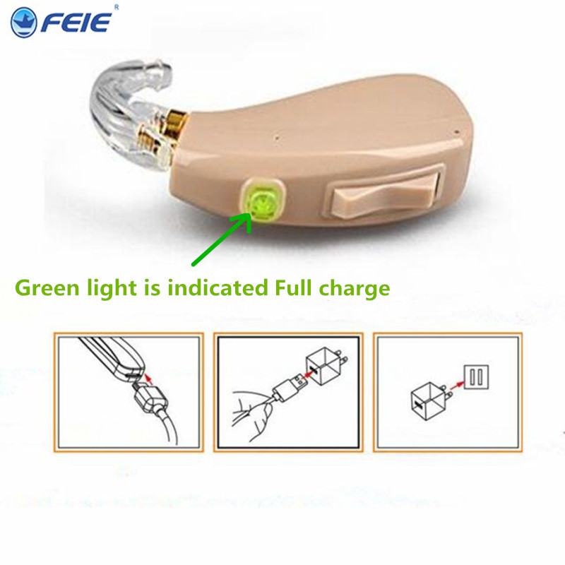 2017 Medical Earphone Hearing Aid Microphone RIC BTE Digital Hearing Aid For Senior Care MY-201 Free SHipping ric bte hearing aid sound amplifiers for hard of hearing my 19 behind the ears for parent s best gift other properties