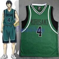 Anime KUROKO S BASKETBALL Kuroko No Basuke Cosplay Kirisaki School 4 Hanamiya Makoto Basketball Jersey Sportswear
