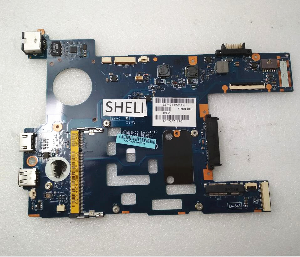 SHELI LA-5461P CN-0JHY9H 0JHY9H JHY9H For Dell 11z 1110 Motherboard