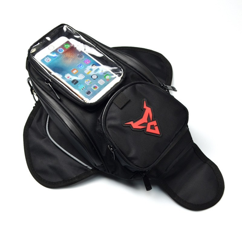 Motorcycle Magnetic Tank Bag Waterproof Motorbike Saddle Bag Shoulder Bag Backpack Luggage Phone Case Holder For IPhone Xiaomi