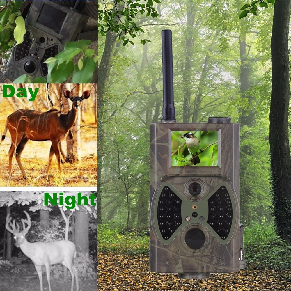ФОТО Night Vision Camera Motion Detection Infrared 12mp Trail Hunting Camera For Wild Observation