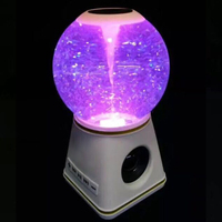 Bluetooth Speakers with Crystal Ball Wireless Portable Speaker for Home Car WIF66