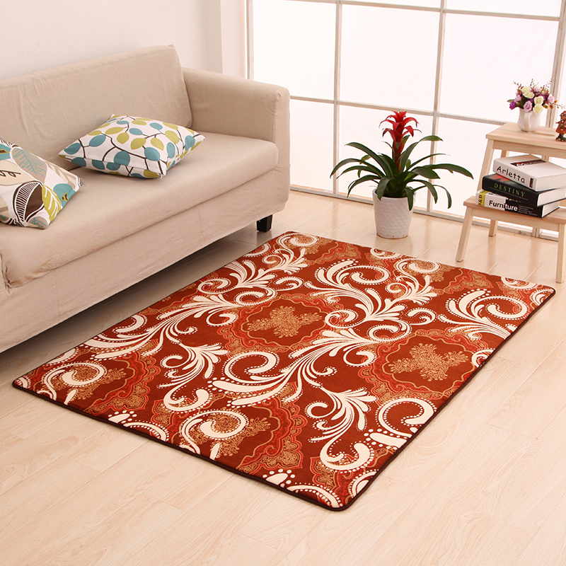 soft kitchen floor mats carpet livingroom abstract coral fleece carpet bedroom 5589