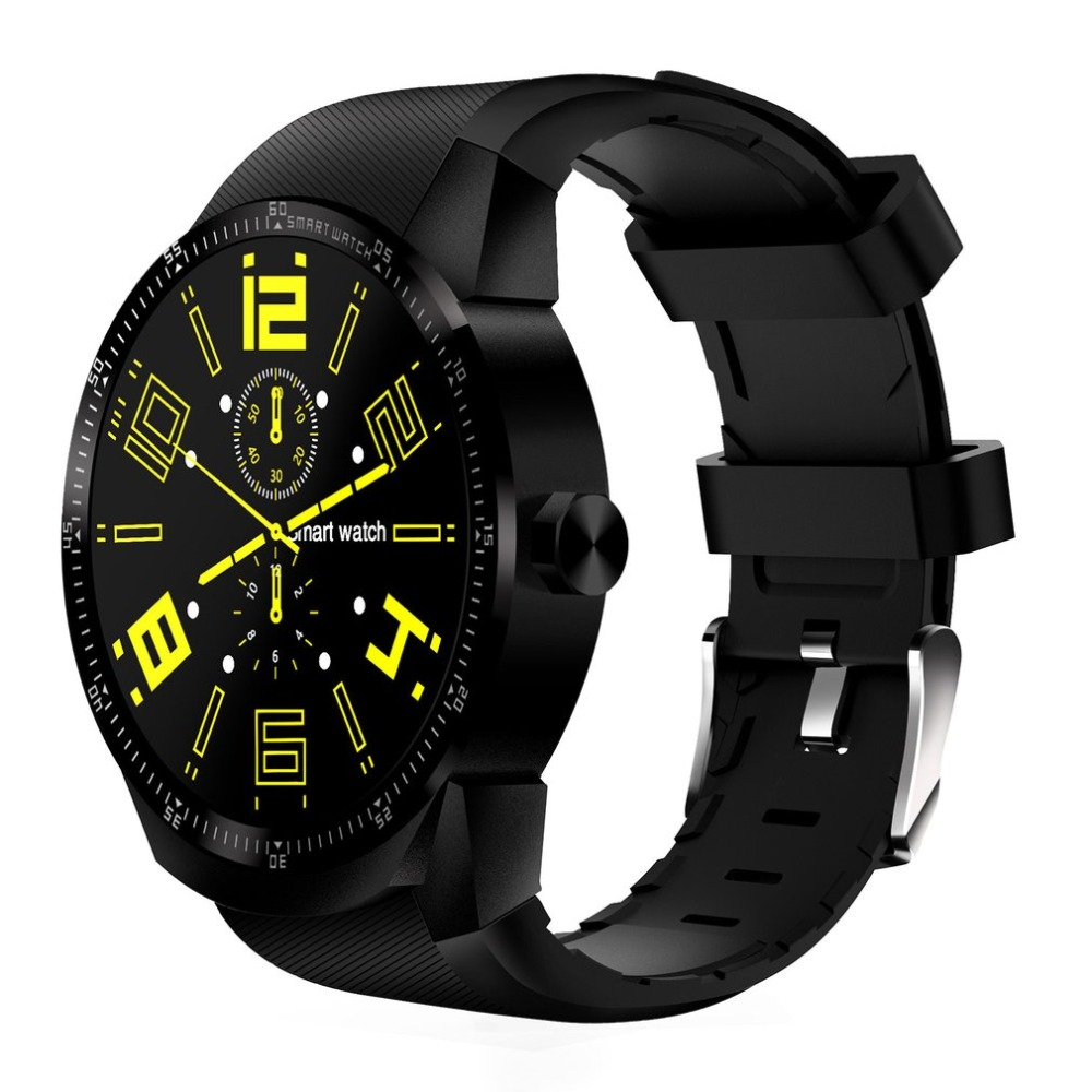 Multifunctional K98H 3G Smart Bracelet Round Smartwatch Waterproof GPS WIFI Heart Rate Wristwatch for Android 4.1 trendy letter heart round rhinestone bracelet for women