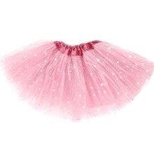Балет блестки звезда принцесса партия танец юбки девочка юбка ребенок костюм