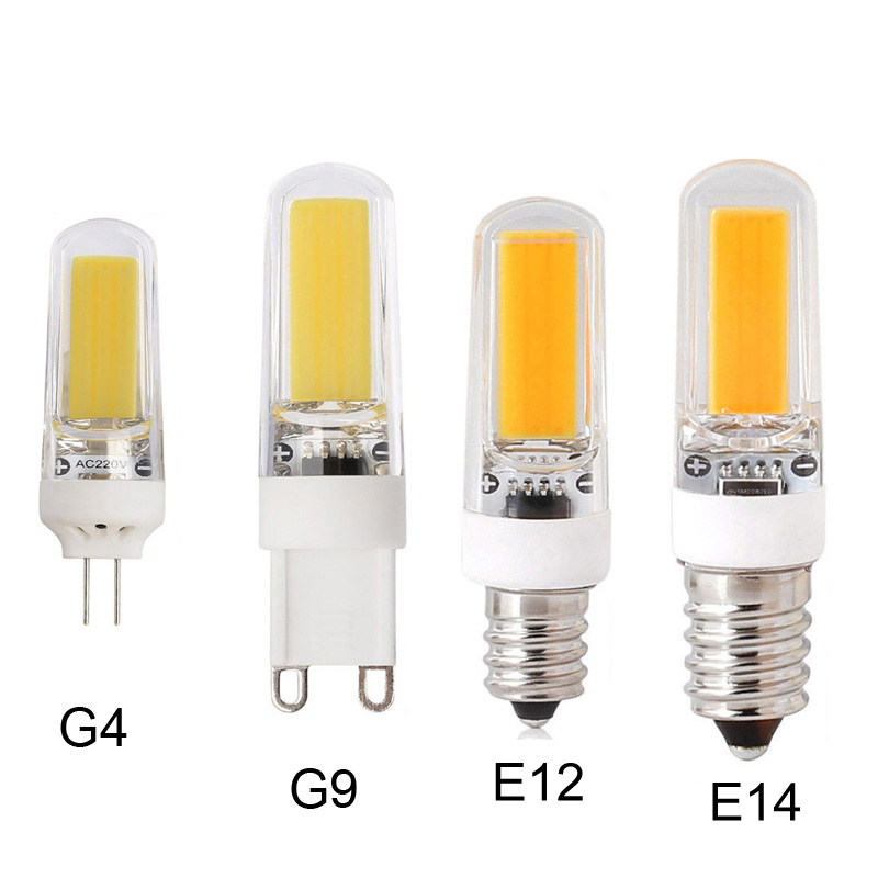 Led Bulbs & Tubes 10pcs/lot 2609 Cob Dimmable Lamp Bulb Chandelier Lamps E12/e14/g4/g9 9w Warm/natur/cool White Ac 110v/220v Led Light High Quality And Inexpensive Lights & Lighting