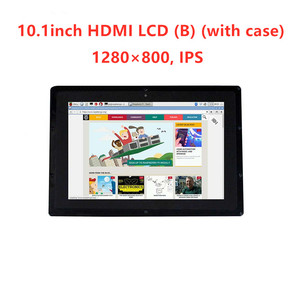Image 2 - Waveshare 10.1 インチの hdmi 液晶 (B) 1280*800 容量性、 IPS タッチスクリーン、ラズベリーパイ、バナナパイ、 BB 黒 WIN10