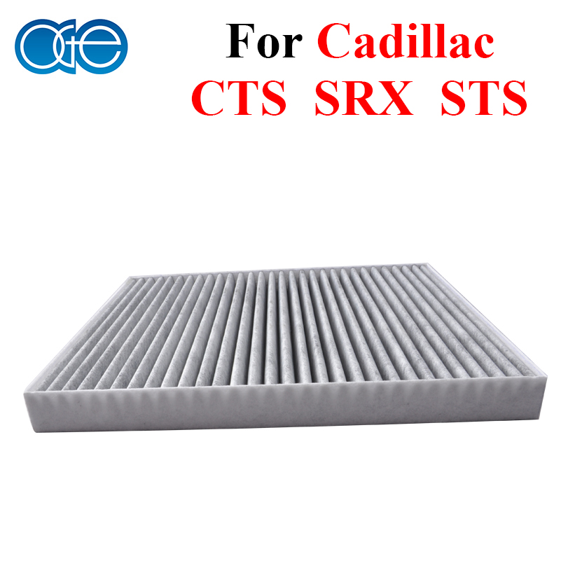 Car Parts Carbon Cabin Filter For Cadillac CTS SRX STS
