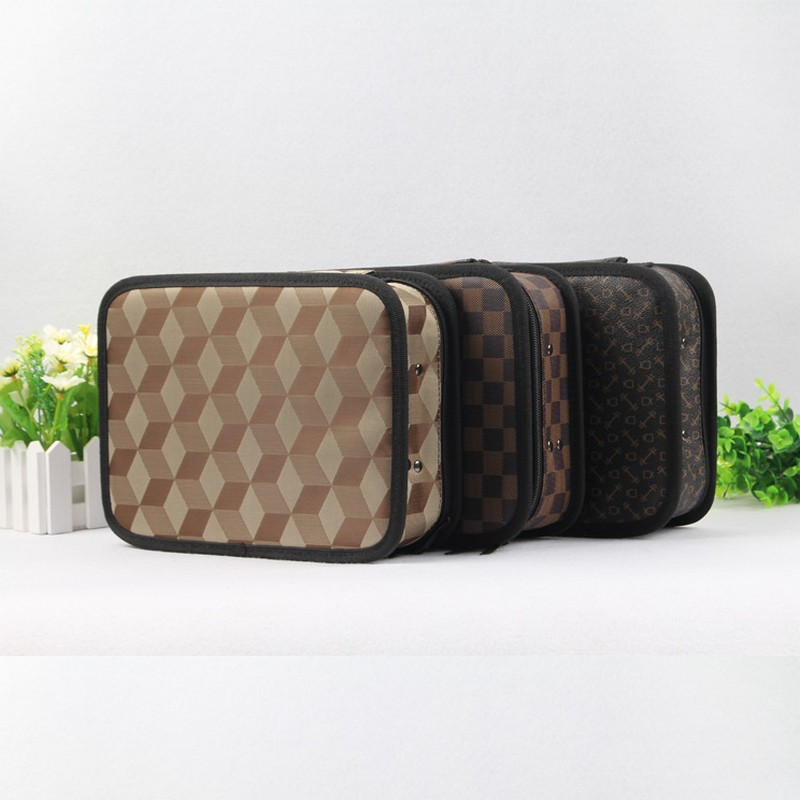 Professional Hair Tool Bag Salon Portable Comb Tool Case For Hair Styling Tools Storage PU Leather Hair Scissors Bag td tool bag leather repairing tools packaging maintenance kit household storage bag carry portable