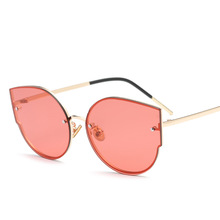 2017 new personalized female big sunglasses glasses trendsetter17011