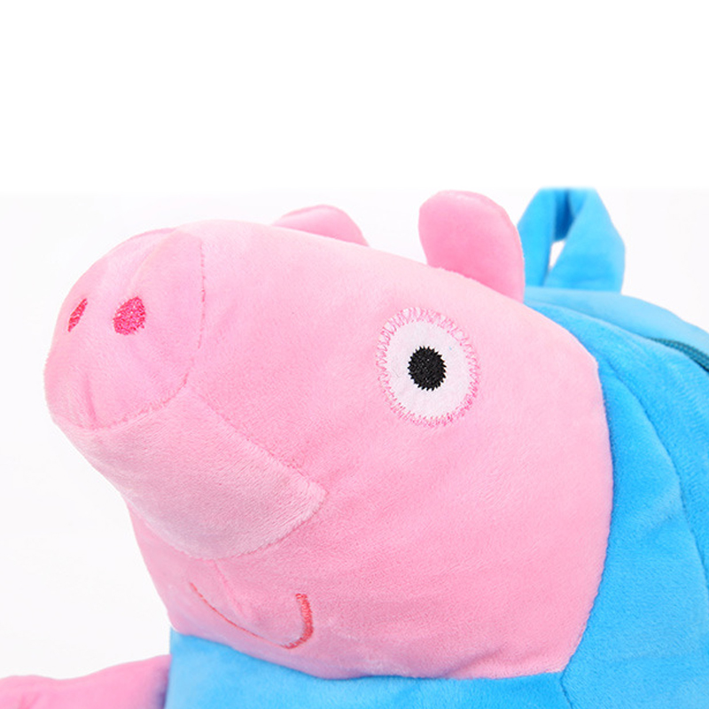 Lovely-Children-Plush-Cartoon-Bags-Kids-Backpack-Children-School-Bags-3D-Pig-Bags-For-Boys-Girls-Brinquedos-Kids-Toys-5-Colors-5
