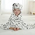 Animal Dos Desenhos Animados Cosplay adereços Foto do bebê Receber Cobertor de Flanela Branca de neve leopardo Projeto Recém-nascidos Banho Infantil Robe Dormir