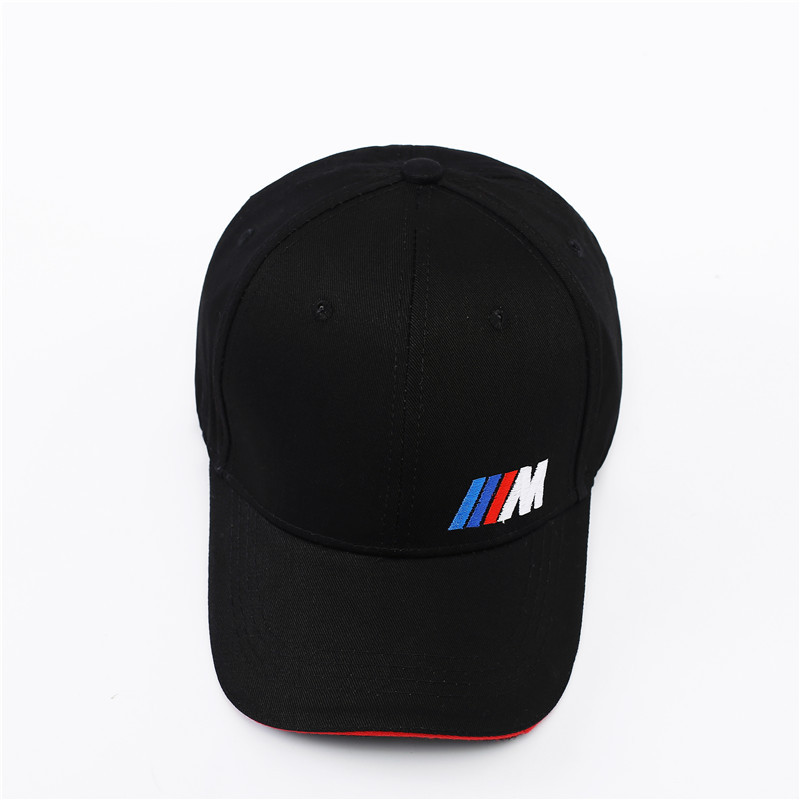 M logotipo do algodão boné de beisebol chapéu de Golfe esportes ao ar livre simples sólida para BMW E30 E34 E36 E38 E39 E93 F10 F20 F30 X1 X3 X5 X6