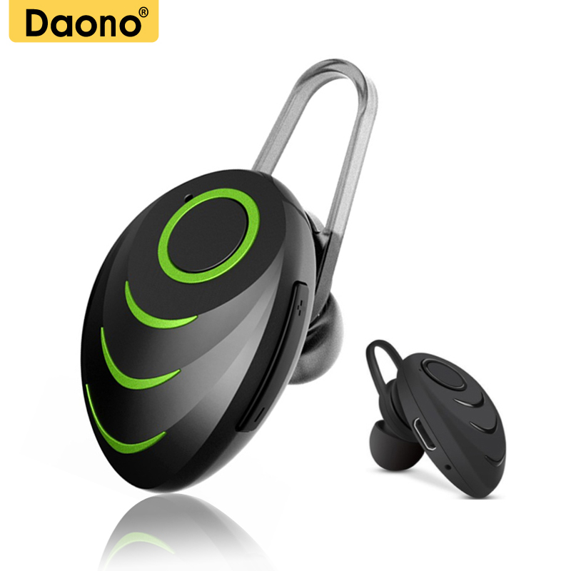 DAONO A3 Stereo Mini Bluetooth Headset Wireless Earphone Hands Free Headphone with Mic for Phone Laptop PC MP3 wireless bluetooth stereo headset headphone with mic for cellphone pc mp3 mp4 bluetooth headset speaker