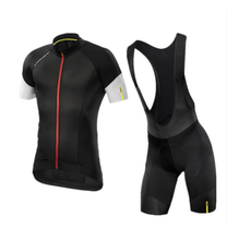 2019 Mavic Pro Team Hombre Cycling Clothing, Summer Bicycle Wear Maillot Ciclismo Jersey 9D Gel Pad High Quality Bib Shorts Sets