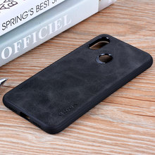 for Xiaomi Mi 8 case Luxury Vintage leat