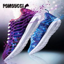 2017 New Multicolor Light Running Shoes Men Women Sports Sneakers Breathable Mesh Outdoor Athletic Jogging Shoes Adults Trainer