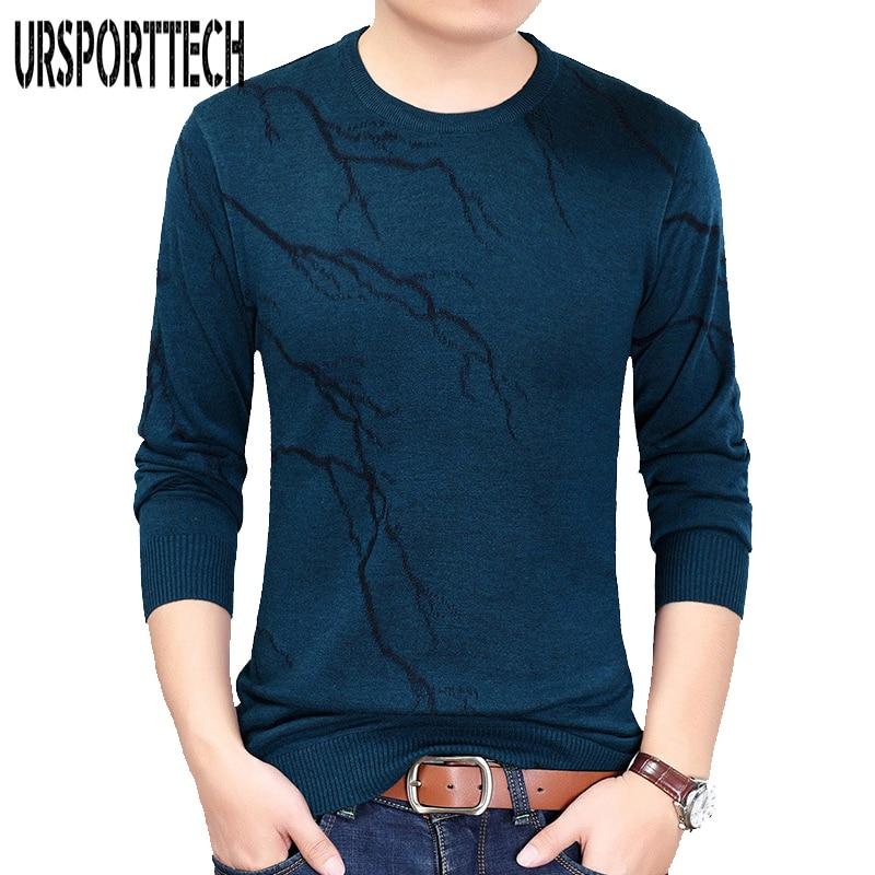 2017 Neue Casual Pullover Männer Oansatz Slim Fit Strick Herren Pullover Und Pullover Männer Pullover S-xxl