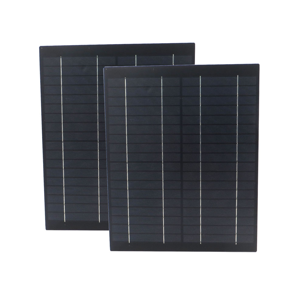2pcs lot Solar Panel 18V 20 W Watt 1 1A Mini PET polycrystalline PV module cell