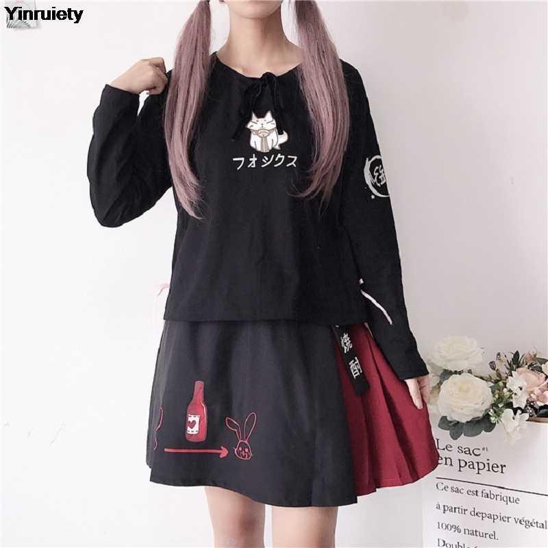 73b6a121dde5 Detail Feedback Questions about Japanese Women Cute Kawaii Outfit ...