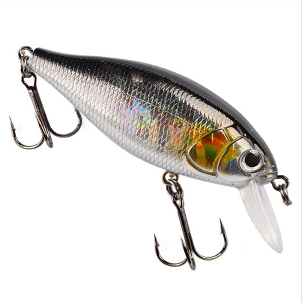 1pcs Hard Wobbler Fishing Lure 7cm 13g Artificial Plastic Bait Bionic 3D Eyes Floating Crankbait Japan Fish Pesca Isca