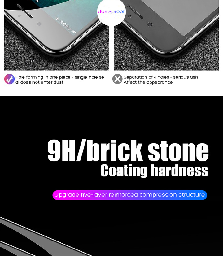 HTB10YVibRCw3KVjSZFlq6AJkFXaT 15D Protective Tempered Glass On The For iPhone 6 6s 7 8 Plus X 10 Glass Screen Protector Soft Edge Curved For iPhone XR XS MAX