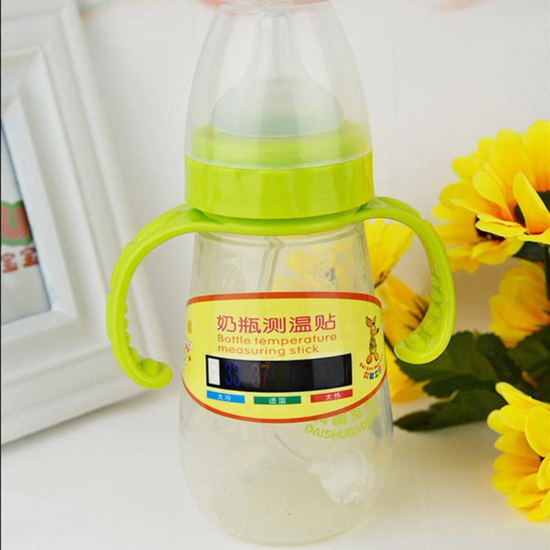 Infant Baby Milk Bottle Temperature Measuring Sticker Reusable Thermometer Temperature Test Paper Baby Safety Care Products