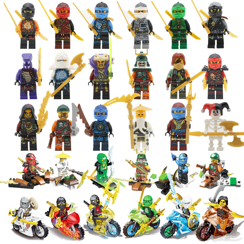 2017 HOT Compatible LegoINGlys NinjagoINGlys Sets Kai Jay Cole Zane Lloyd  NYA Chen Action Figure with Weapon Toys For Children cole nussbaumer knaflic storytelling with data