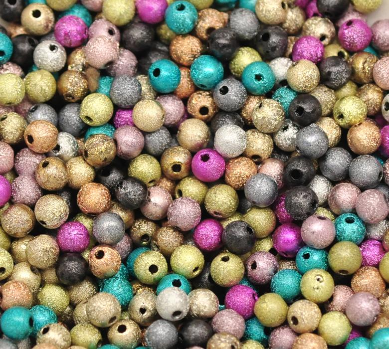 DoreenBeads на случайных акриловых разделительных бусин 6 мм (1/4 «), продается в упаковке 60 шт. новинка 2015