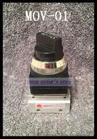 10Pcs MOV 01 2 Way 2 Position 1/8 Thread Hand Turn Switch Pneumatic Mechanical Valve