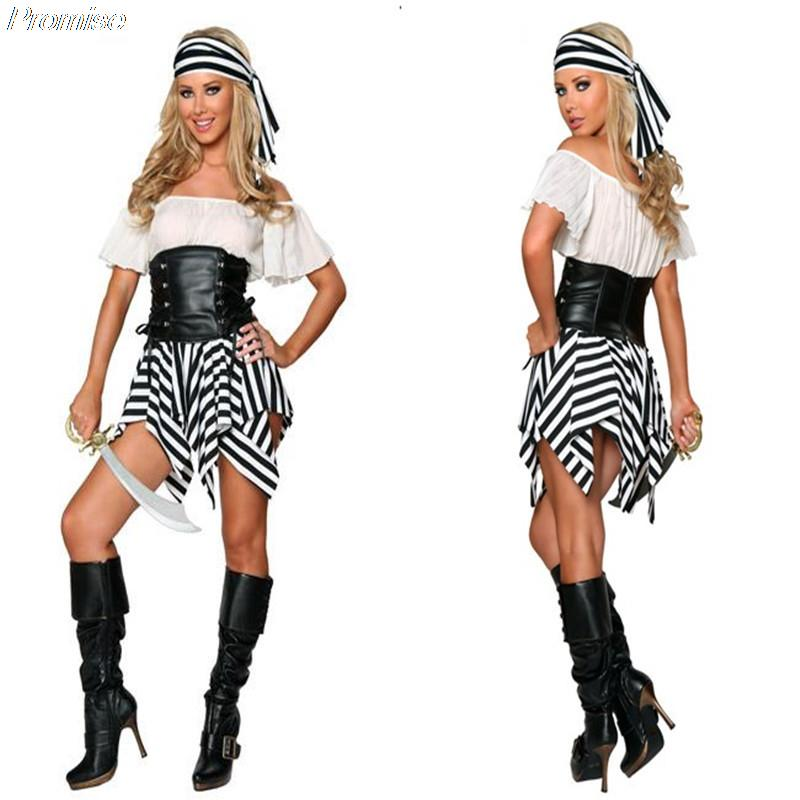 Party City Womens Pirate Costume