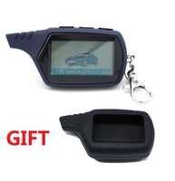 Envío Gratis A91 LCD de control remoto para 2 vías de alarma de coche starline 91 motor starline A91 llavero con alarma/ cuerpo LCD