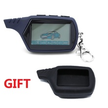 Free shipping A91 LCD remote control for 2 way car alarm sta