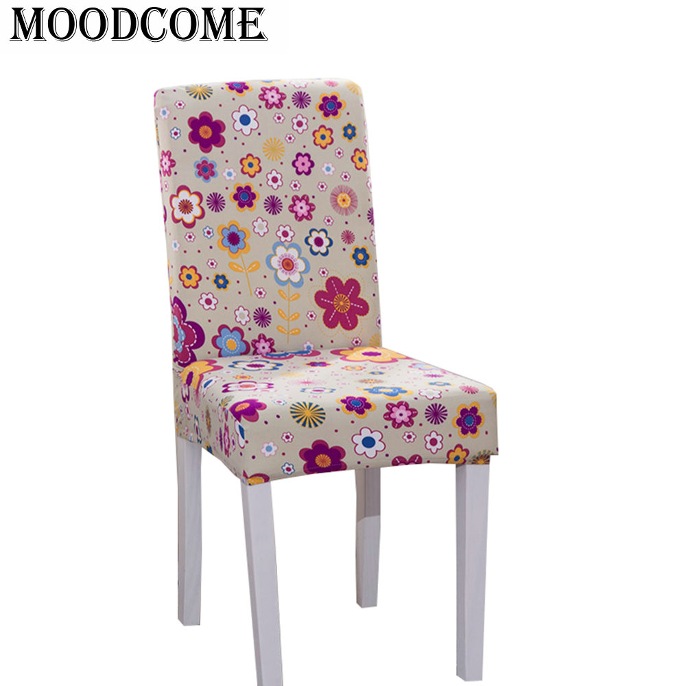 Sensational Gold Flower Chair Cover Spandex Cover For Chair Dining Room Squirreltailoven Fun Painted Chair Ideas Images Squirreltailovenorg