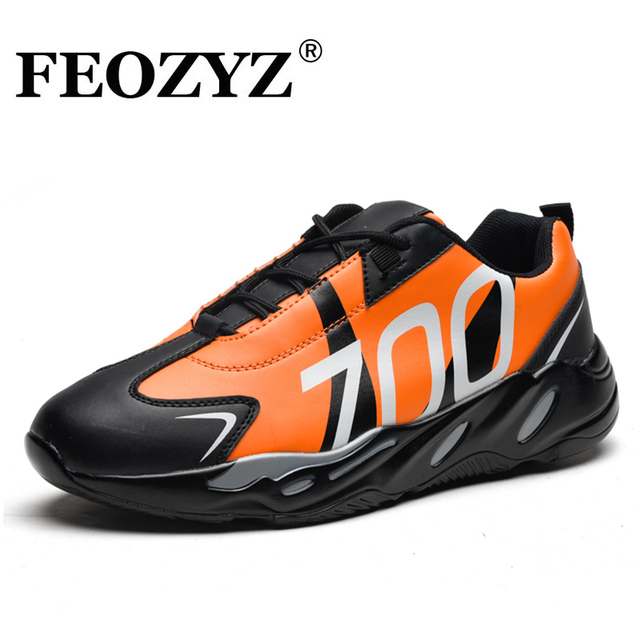 Shoes 700 Men Upper Feozyz City Sneakers Road Running Pu Leather New dWxeErBoQC