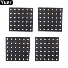 4 sztuk/Lot36x3W matryca LED światła LED RGB 3w1 płaski reflektor DMX512 kontrola dźwięku impreza z dj em Disco Club Bar efekt sceniczny oświetlenie
