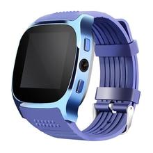 купить Support SIM TF Card Remote Camera Anti-lost Pedometer Call Smartwatch For Android Phone Smart Watch GSM Bluetooth Wrist Watch по цене 632.26 рублей