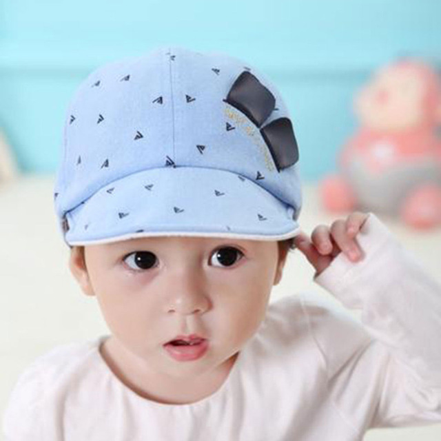 Fashion New Baby Boys Girls Baseball Caps Children Kids Cotton Beret Hats  Lovely Photography Cricket- f5b409e86cb2