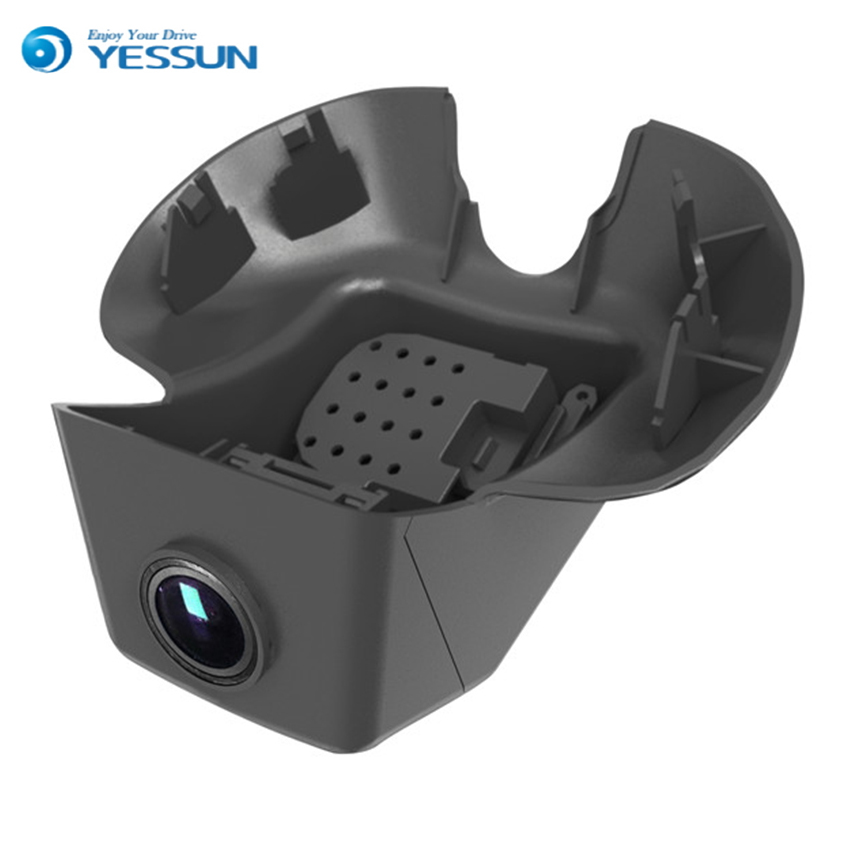 YESSUN For Volvo V40 / Car Driving Video Recorder DVR Mini Wifi Camera Black Box / FHD 1080P Dash Cam Original Style bigbigroad for geely king kong mk ck panda lc englon c5 car wifi dvr video recorder fhd 1080p g sensor dash cam car black box