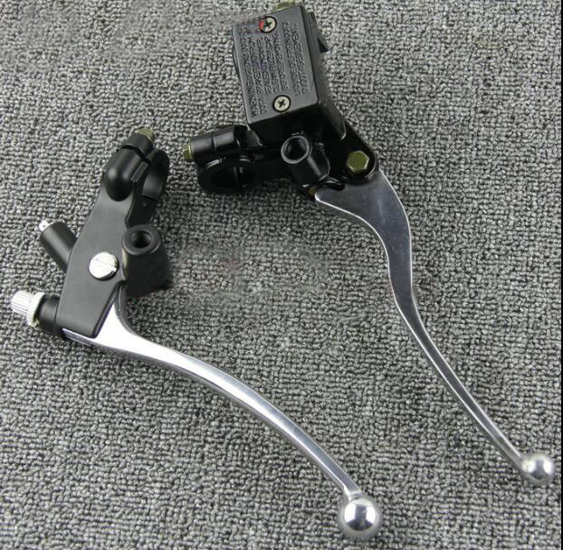 Free shipping Motorcycle front brake master cylinder brake pump and clutch seat suitable for Honda CA250 free shipping 7 8 22mm motorcycle brake clutch brake rod master cylinder suitable for honda cbr250 cbr400 cbr600 cbr900 silver