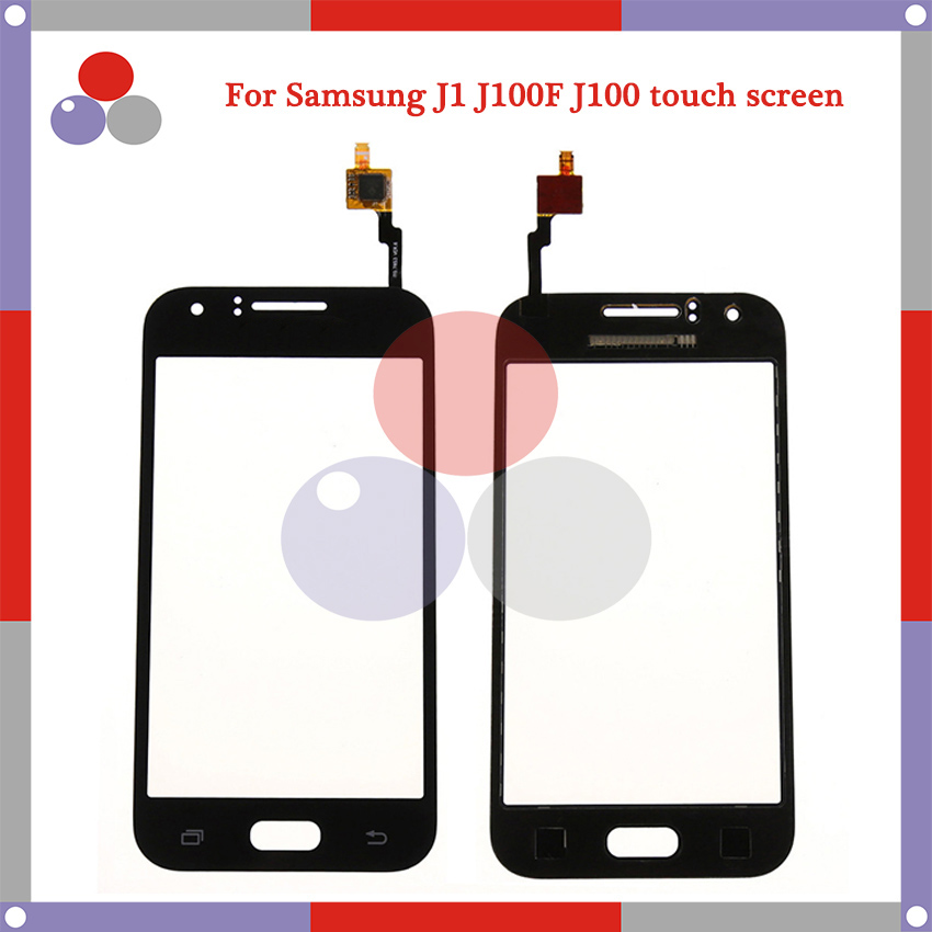 50pcs/lot High Quality For Samsung Galaxy J1 <font><b>J100</b></font> J100F J100H <font><b>Touch</b></font> <font><b>Screen</b></font> Panel Sensor Digitizer Outer Glass Lens image