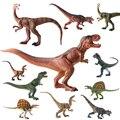 Dinossauro do jurássico Simulação modelo animal de brinquedo de plástico sólido Presentes dinossauro Tiranossauro Rex