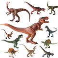 Jurassic dinosaur Simulation animal toy model of solid plastic dinosaur Gifts Tyrannosaurus Rex