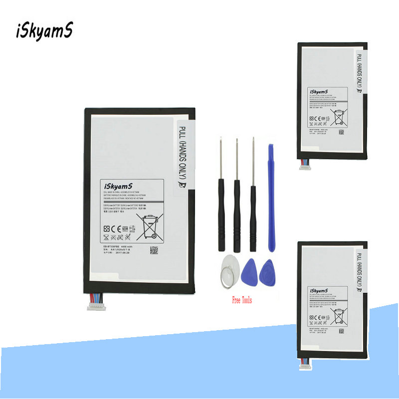 Mobile Phone Batteries U Less Expensive Lehons 1x New 4450mah Tablet Battery For Samsung Galaxy Tab 4 8.0 T330 T331 T331c T335 Sm-t330 Sm-t331 Sm-t335 Eb-bt330fbe