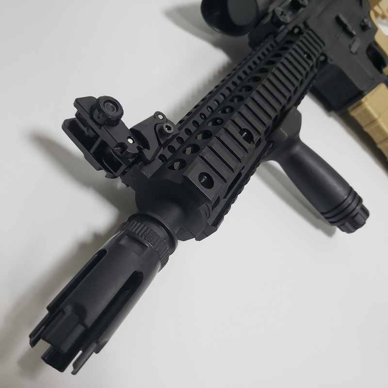 Image 5 - 10 inch Airsoft  MK 18 Nylon Forearm Grip For Most Toy Rifles Screw Cable M4 Refitting Parts Outdoor Hunting Accessory-in Hunting Gun Accessories from Sports & Entertainment